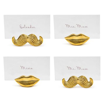 Brass Mr. & Mrs. Muse Place Card Holders