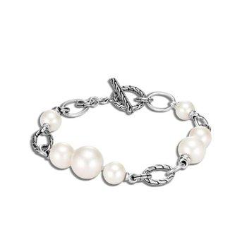 Classic Chain Bracelet - Freshwater Pearl