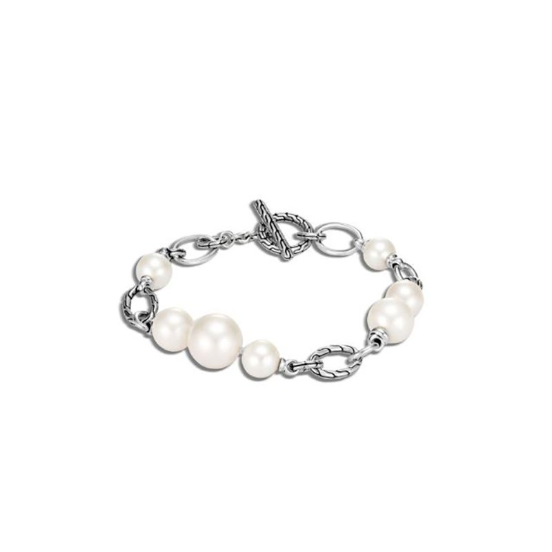 John Hardy Classic Chain Bracelet - Freshwater Pearl