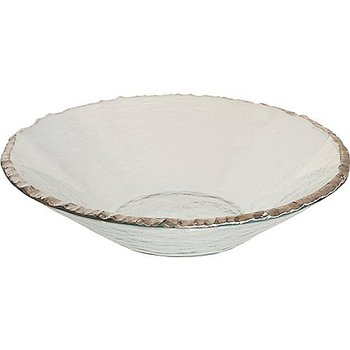 Edgey Round Bowl-Platinum