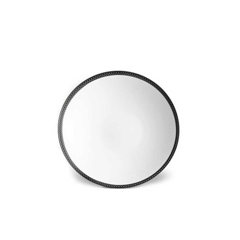 L' Objet Soie Tressee Soup Plate
