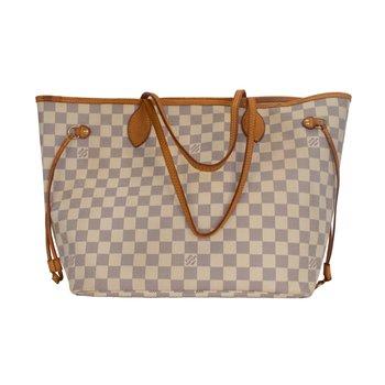Damier Azur Neverfull MM Bag
