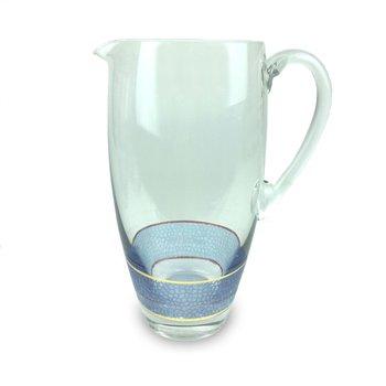 Panthera Indigo Glass Pitcher