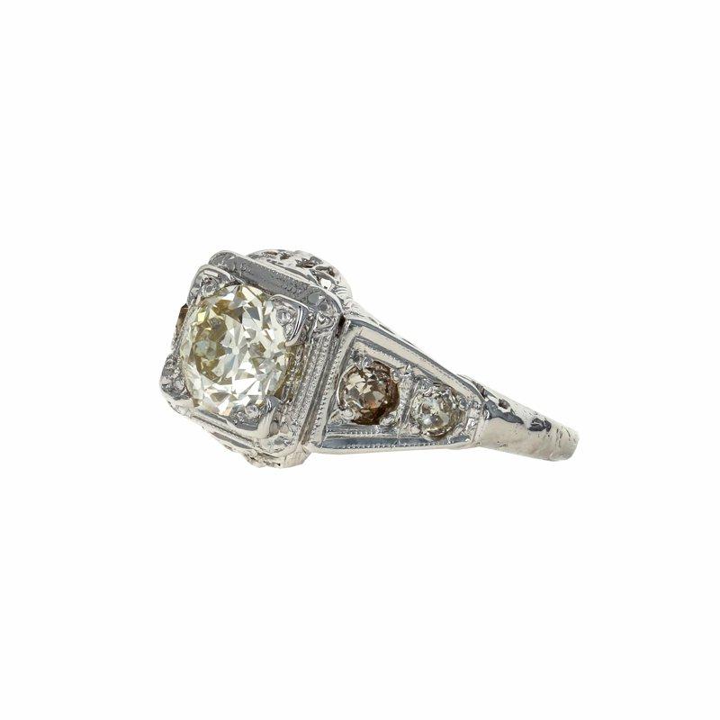 Estate Radcliffe Antique Style Diamond Ring
