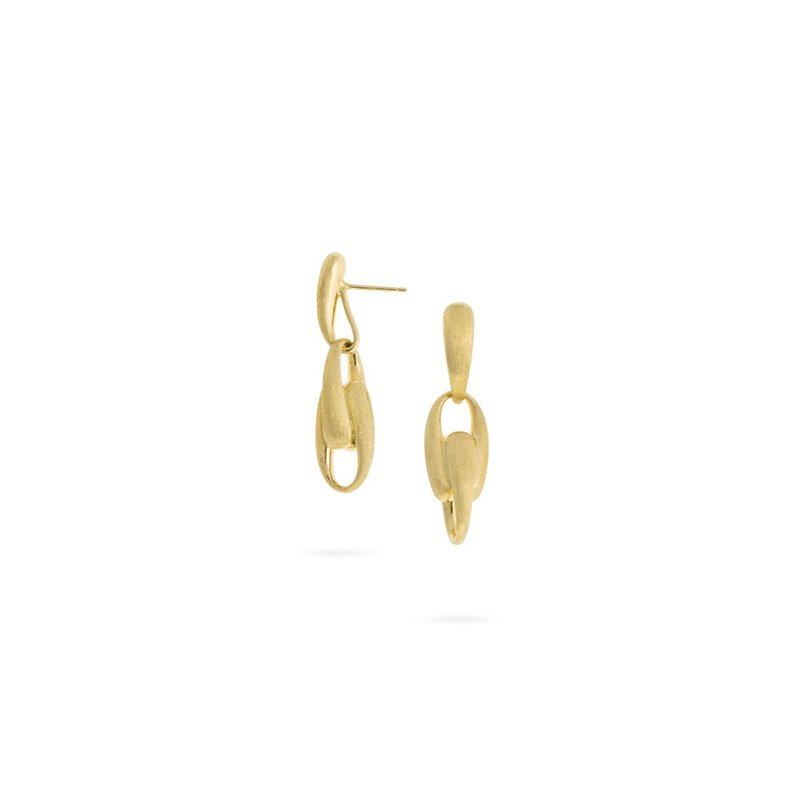 Marco Bicego Lucia Collection 18K Yellow Gold Link Drop Earrings