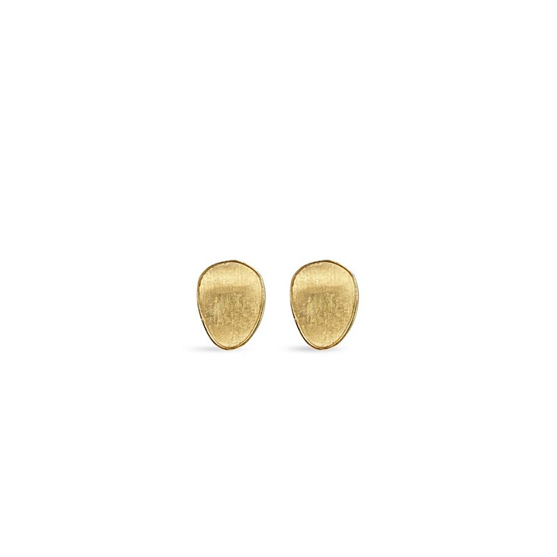 Marco Bicego Lunaria Flat Medium Stud Earrings