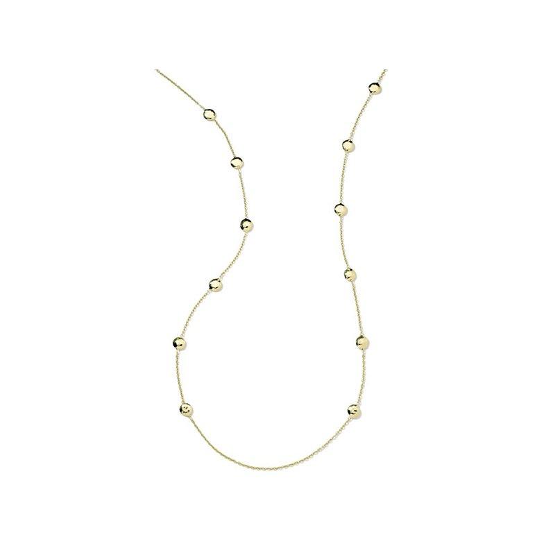 Ippolita Classico Long Hammered Pinball Layereing Necklace