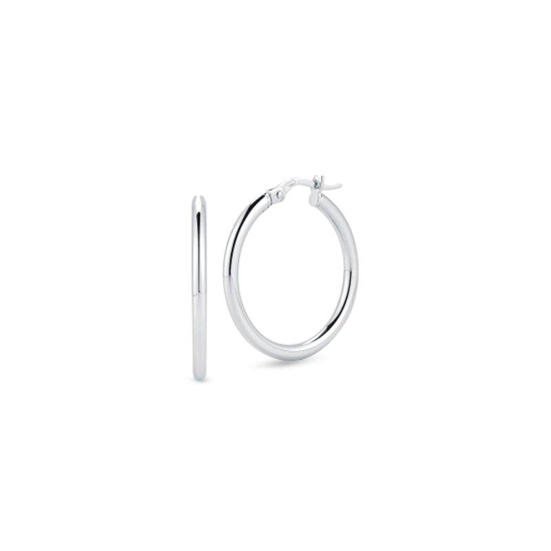 Roberto Coin 25mm Thin Hoop Earrings