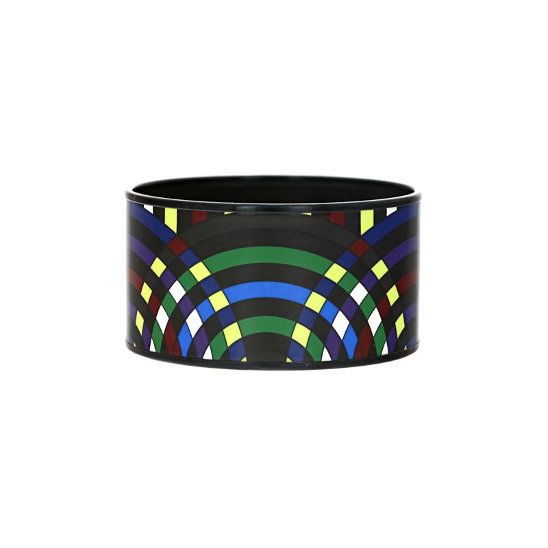 Hermes Extra Wide Spirographie Abstract Bangle