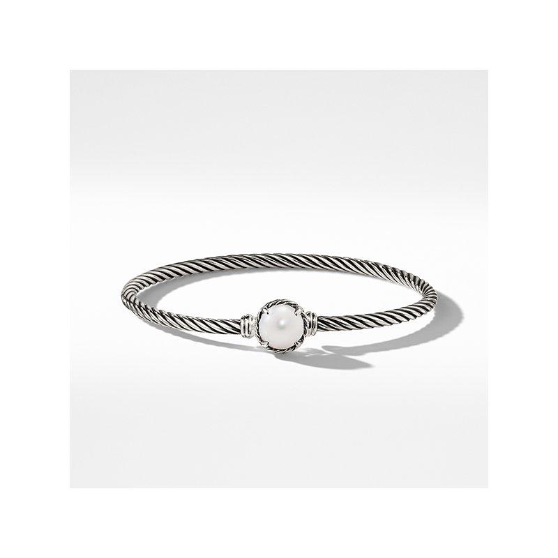 David Yurman Chatelaine Bracelet with Pearl