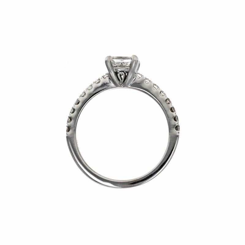 Estate Radcliffe Princess Cut Diamond Ring