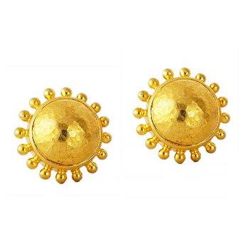 Granulated Stud Earrings