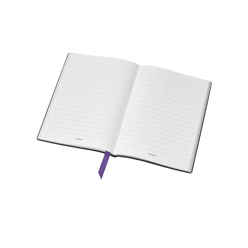 Montblanc Purple Lined Notebook