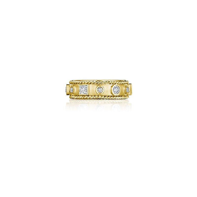 Penny Preville Round & Princess Cut Band