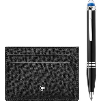 Gift Set with StarWalker Resin Ballpoint and Montblanc Sartorial Pocket Holder