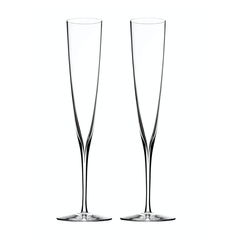 Waterford Elegance Champagne Trumpet-Set of 2
