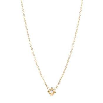 Starburst & Diamond Necklace