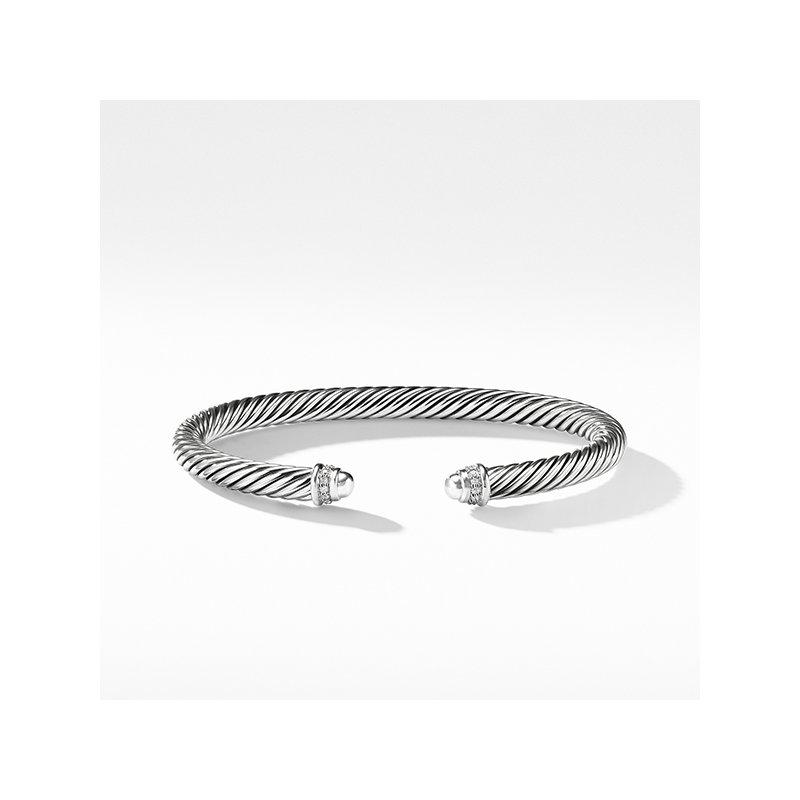 David Yurman Cable Classics Collection Bracelet with Diamonds