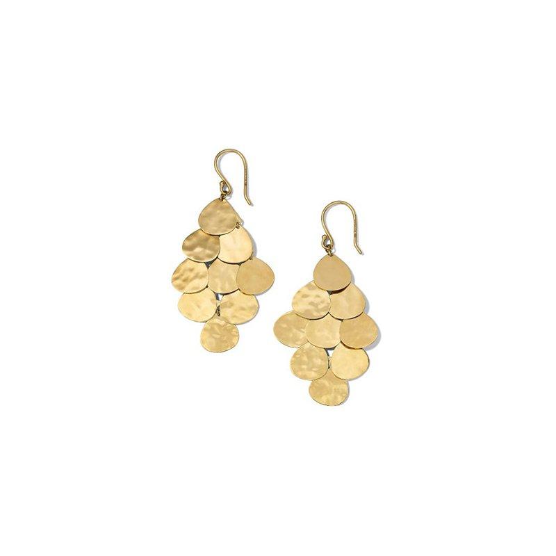 Ippolita Classico Crinkle Cascade Earrings