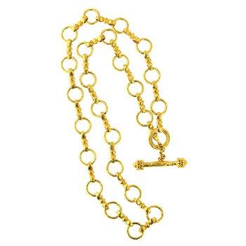 """Celtic Link Necklace-21"""""""
