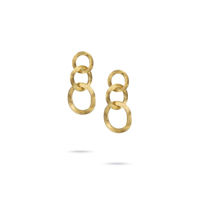 Marco Bicego Jaipur Collection 18K Yellow Gold Drop Earrings