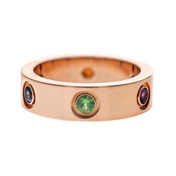 Sapphire Love Ring