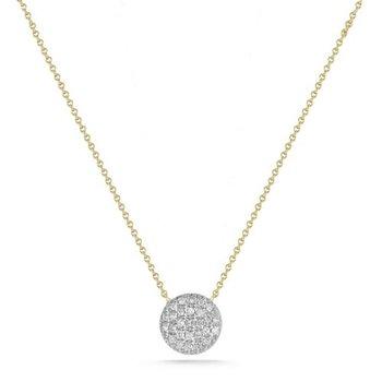 Lauren Joy Medium Disc Necklace
