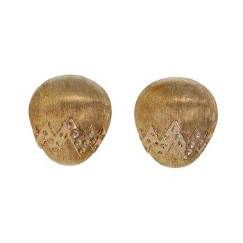 Hollow Egg Shaped Earrings