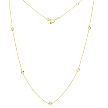 Diamonds-by-the-Inch Necklace
