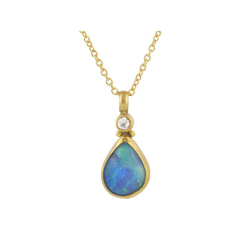 Gurhan Opal Pendant