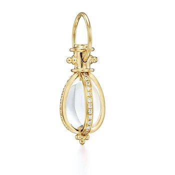 Diamond Pave Amulet