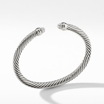 Cable Classics Collection Bracelet with Diamonds