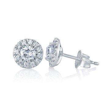 1.00 CTTW Diamond Studs