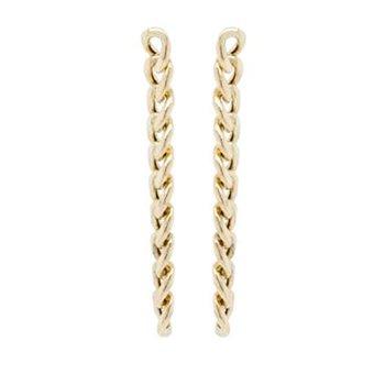 Curb Chain Drop Earring