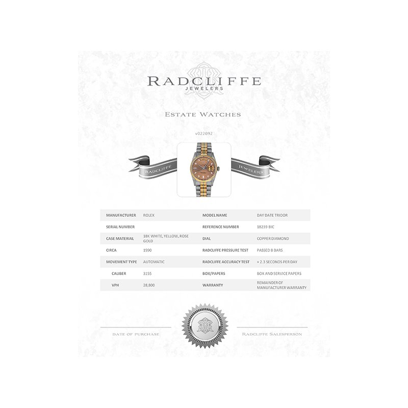 Pre-Owned Rolex Day-Date (Ref. 18239)