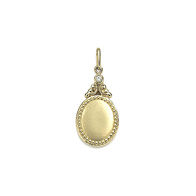 Penny Preville Oval Charm Pendant