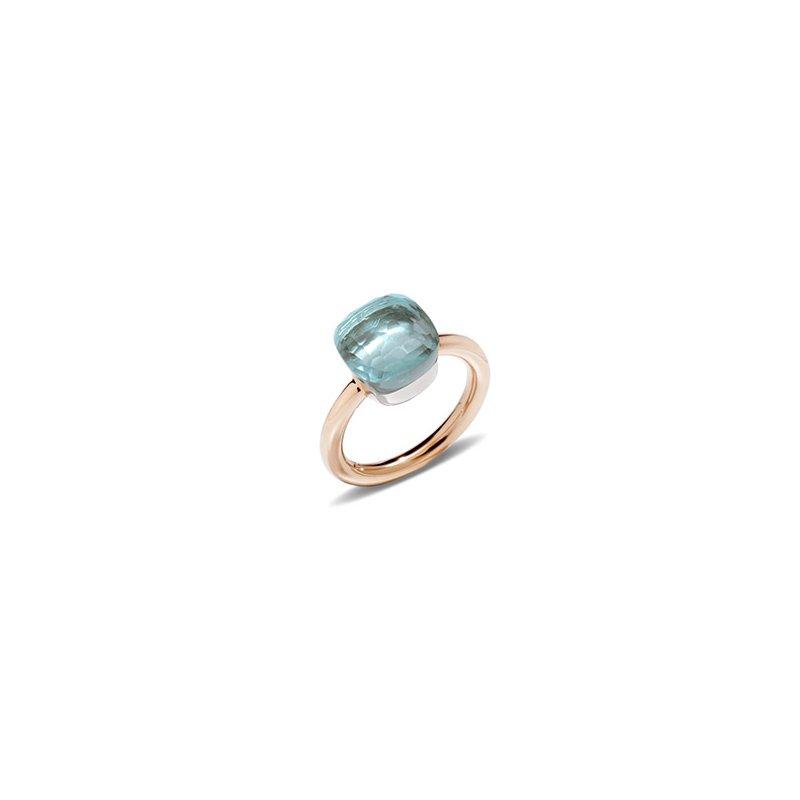 Pomellato Nudo Classic Ring in Blue Topaz