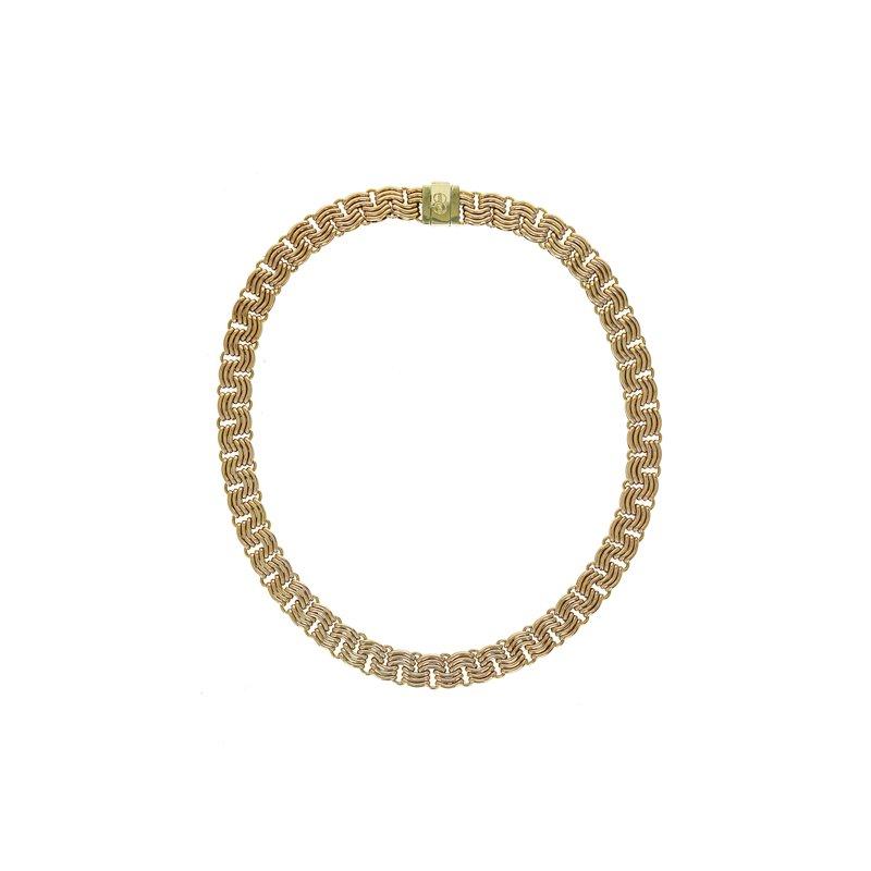 Estate Radcliffe Unoaerre Woven Chain Necklace