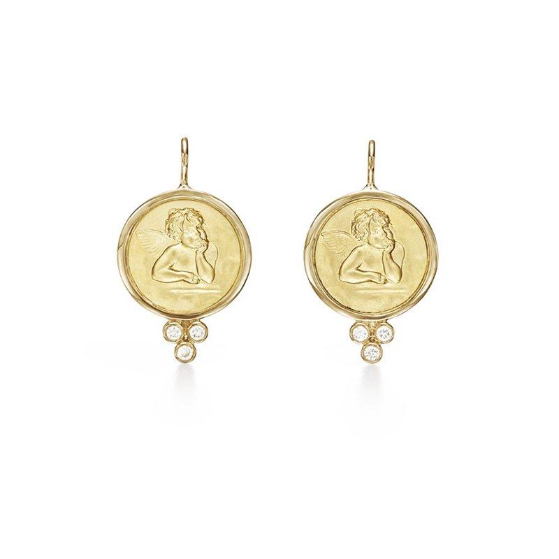 Temple St. Clair Angel Earrings
