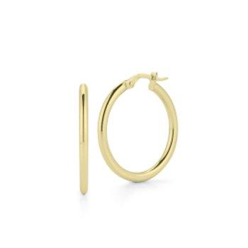 25mm Thin Hoop Earrings