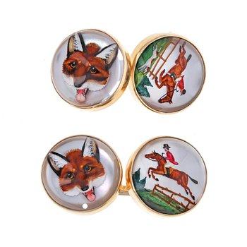 Horse & Fox Cufflinks