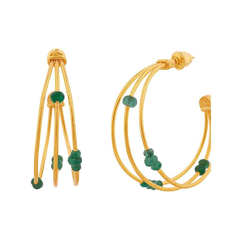 Gurhan Triple Hoop Earrings