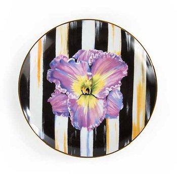 Thistle & Bee Salad Plate, Iris