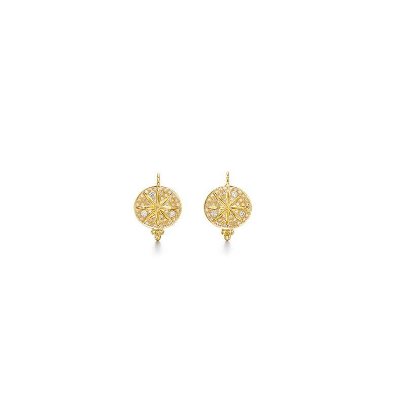 Temple St. Clair Diamond Sorcerer Earrings