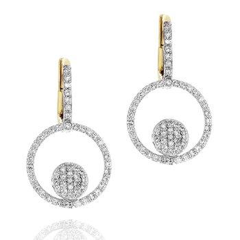 Micro Infinity Loop Earrings