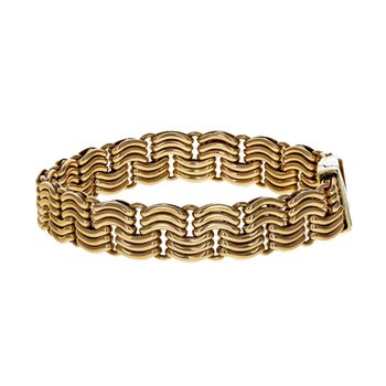 Unoaerre Woven Chain Bracelet