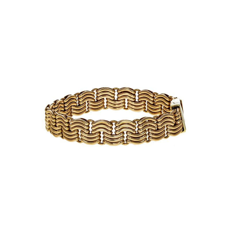 Estate Radcliffe Unoaerre Woven Chain Bracelet