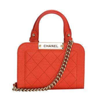 Mini Matelasse Top Handle Bag