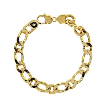 Solid Curb Link Chain Bracelet