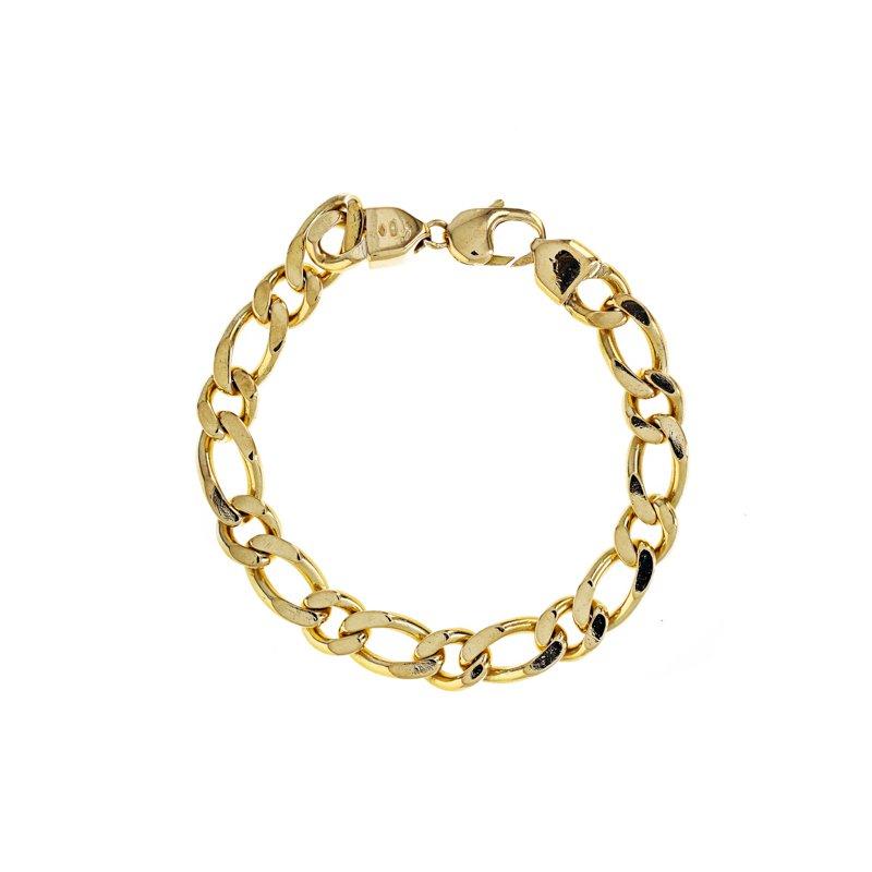 Estate Radcliffe Solid Curb Link Chain Bracelet